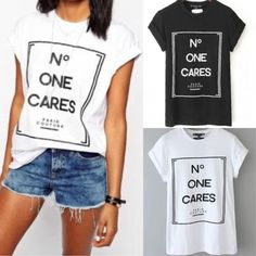 Make a style statement with this No One Cares Top! -- Spring Summer Fall Winter Fashion. www.psiloveyoumoreboutique.com