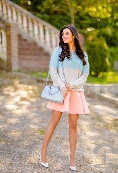 El neopreno no sirve solo para bucear, también se pueden hacer faldas muy femeninas. #style #fashion