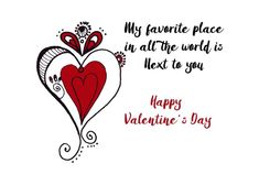 My favorite place in all the world is next to you Greeting Card for Sale by Cynthia Cabello Valentines Day Quotes Images, Valentine's Day Quotes, Happy Valentines Day, Card Tags, Tag Art, Basic Colors, How To Be Outgoing, Are You Happy, Colorful Backgrounds