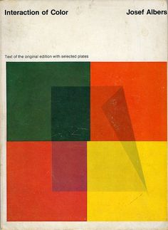 Interaction of Color Joseph Albers  via Flickr