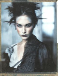 "Erin Wasson in ""Pale Shades"" by Paolo Roversi for Vogue Italia."