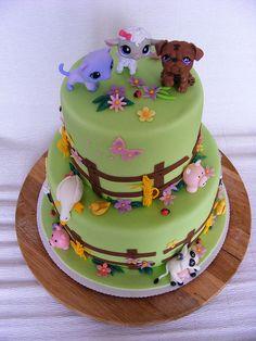 farm animals cake | Flickr - Photo Sharing!