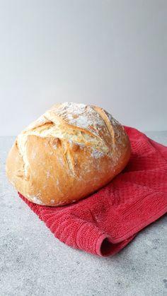 Házi fehér kenyér kezdőknek - Tejturmix Hungarian Recipes, Bread Rolls, Bread Baking, Food And Drink, Yummy Food, Sweets, Cookies, Healthy, Cake
