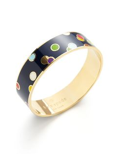 Polka Dot Idiom Bangle by kate spade new york on Gilt.