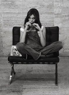 Dalianah Akerion shot by Sebastian Faena for V Magazine #84 Fall Preview 2013