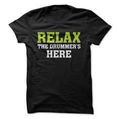 Relax - The Drummer Is Here (Seen in an ad on Facebook)