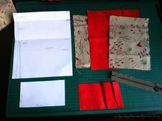 tuto-tabaquera2 Sewing Tutorials, Sewing Projects, Kydex, Patches, Pouch, Organization, Quilts, Blanket, Scrappy Quilts