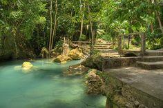 Path to Kawasan Falls, Cebu, Philippines (by Greg Samborski).