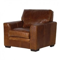Gladstone Oiled Leather Armchair £918.00