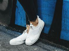 SNEAKER SHOES ADIDAS ORIGINALS SUPERSTAR SLIP ON S81338 - Sneakerstudio.eu