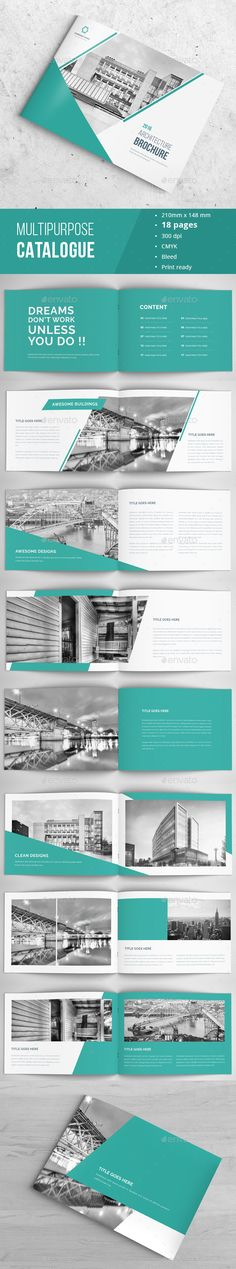 Corporate Portfolio / Brochure Template InDesign INDD. Download here: http://graphicriver.net/item/corporate-brochure-portfolio/16534830?ref=ksioks
