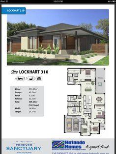 Storage Modern House Floor Plans, Home Design Floor Plans, Contemporary House Plans, Best House Plans, Bungalow Haus Design, Sims House Design, Indian Home Design, 5 Bedroom House Plans, Australia House