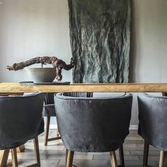 On walls Fresco lime paint, color Wet Sand. Plaster Paint, Lime Paint, Mineral Paint, Fresco, Dining Table, Dining Room, Pure Products, The Originals, Painting