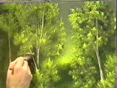 ▶ Bob Ross - Grassy Edge of the Creek - Painting Video - YouTube
