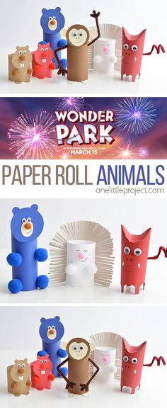 How to Make Paper Roll Animals Kids Crafts winter diy crafts for kids Winter Crafts For Kids, Easy Crafts For Kids, Toddler Crafts, Diy For Kids, Upcycled Crafts, Diy Crafts, Decor Crafts, Sewing Crafts, Sewing Projects For Kids