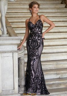 Enthrall all as you make your grand entrance in this fascinating prom dress 42128 from Morilee. This astonishing gown features a sweetheart neckline and...