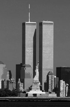 Twin Towers  NEVER FORGET  NEVER FORGIVE   NEVER SURRENDER  AMERICA FOREVER