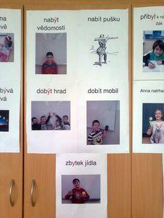Vyjmenovaná slova a slova příbuzná Teaching Ideas, Photo Wall, Baseball Cards, Frame, Literatura, Cuba, Picture Frame, Photograph, Frames