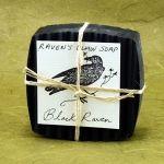 Handmade Soaps :: Black Raven Detox Charcoal Soap - Kate's Magik | Essential Oil Blends, Chakra Oils, Body Perfume Oils