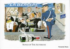 Joan Butler Classics Greeting Card - Songs of the Auvergne Butler, Musicals, Greeting Cards, Hilarious, Songs, Baseball Cards, Classic, Auvergne, Derby