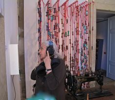 CERES FRANCO au FESTIVAL TEXTIL (s) installation MARION BRETON