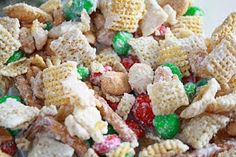 Cooking Pinterest: Chex Mix Christmas Crack Recipe