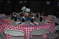 One of three tables for the adults. | djgerling | Flickr