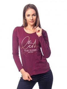 CRESY   Női   Pólók   Hosszú ujjas póló Graphic Sweatshirt, Sweatshirts, Sweaters, Fashion, Moda, Fashion Styles, Trainers, Sweater, Sweatshirt