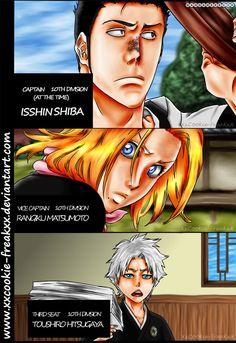 Isshin, Rangiku and Toushiro