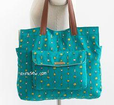 1139 Lola Bag PDF Pattern (2 sizes) - ithinksew.com
