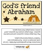 God's Friend Abraham Game