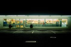 Glowing Night Photos of 24 Hour Convenience Stores by Harlan Erskine