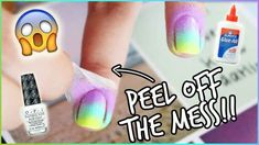 hacks makeup tricks ideas Need beauty hacks? Check out these amazing and useful beauty hacks, makeup tutorials and homemade beauty products fit for every woman. Nail Polish Hacks, Nail Art Hacks, Manicure Tips, Nail Tips, Manicures, Us Nails, Hair And Nails, Sharpie Nail Art, Chipped Nail Polish