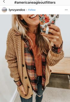 Winter Layering Outfits, Trendy Fall Outfits, Casual Winter Outfits, Mom Outfits, Modest Outfits, Simple Outfits, Cute Outfits, Fashion Outfits, Winter Flannel Outfits