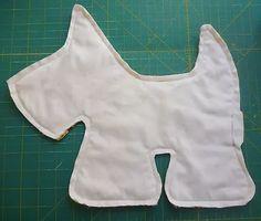 free pdf scottie by Sew Handmade | Scottie Dog Soft Toy Tutorial
