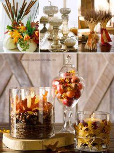 Fall decoración