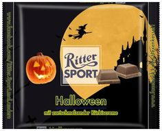 RITTER SPORT Fake Schokolade Sorte Halloween 2