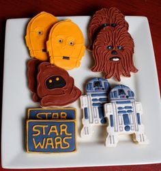 Amazing Star Wars Cookies