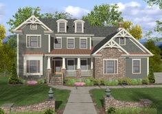 Craftsman House Plan #101161 | Ultimate Home Plans