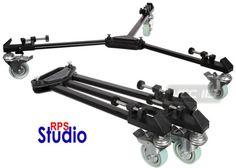 RPS-1099-Universal-Video-Folding-Tripod-Dolly-W-Wheels