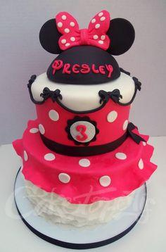 Minnie Mouse Dress Cake — Birthday Cakes