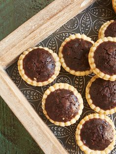 Rich, fudgy Chocolate Peanut Butter Tassies are a tasty two-bite treat. Perfect for entertaining! - Bake or Break