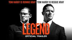 #Legend starring Tom Hardy | Official Trailer | In theaters October 2, 2015