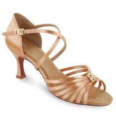 nice color. A little bling. Nice heel.