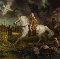 Game_of_Thrones_Concept_Art_Illustration_01_Donato_Giancola_Mother_of_Dragons_Daenerys_Targaryen