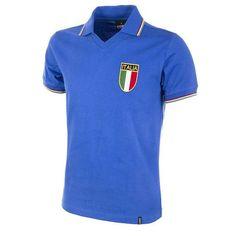 Copa Classics Italy World Cup 1982 Short Sleeve Retro Football Shirt Vintage Football Shirts, Football Tops, Retro Shirts, Football Jerseys, Vintage Shirts, Football Stuff, Soccer Shop, Soccer Kits, American Football
