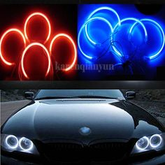 4x #131mm angel eyes #maker halo rings light bulb for bmw e36 e38 e39 e46 #xenon,  View more on the LINK: http://www.zeppy.io/product/gb/2/391500543584/