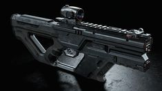 ArtStation - RAID 5.56mm Rifle Concept, Dovydas Budrys