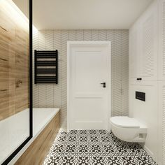 Tile on tub matching shower wal Home Design Decor, Bathroom Interior Design, Home Interior, Interior Design Living Room, House Design, Family Bathroom, Small Bathroom, Master Bathroom, Bad Inspiration