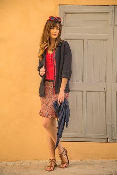 Veste César  #terreetmer #été #cassis Bohemian, Style, Fashion, Grosgrain, Jacket, Swag, Moda, Fashion Styles, Fashion Illustrations